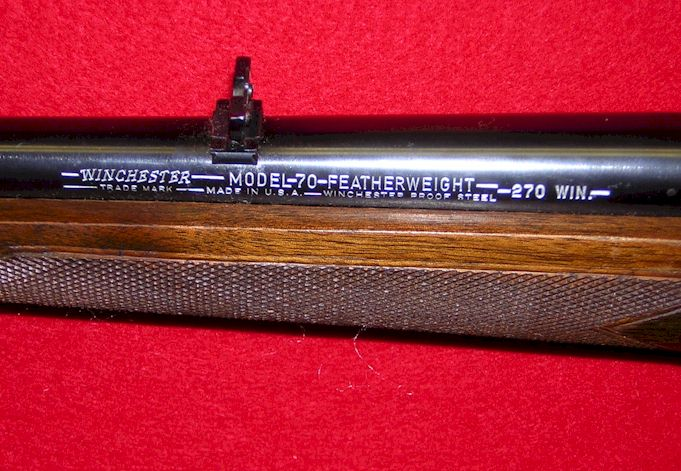 Number serial year winchester made Model 52
